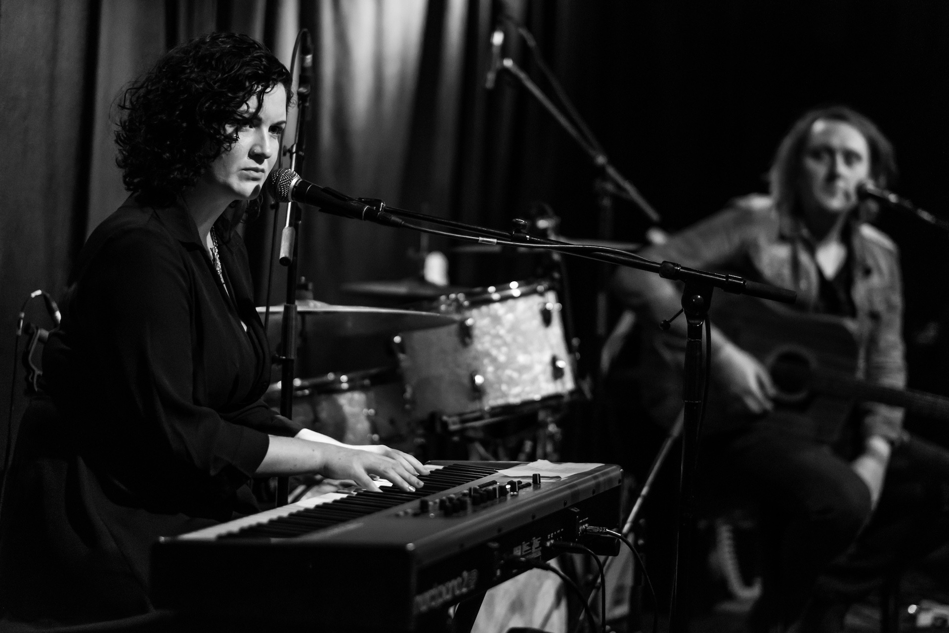 SRF 2016 - Anna Mitchell, John Blek, Nord stage piano, Static Roots Festival 2016