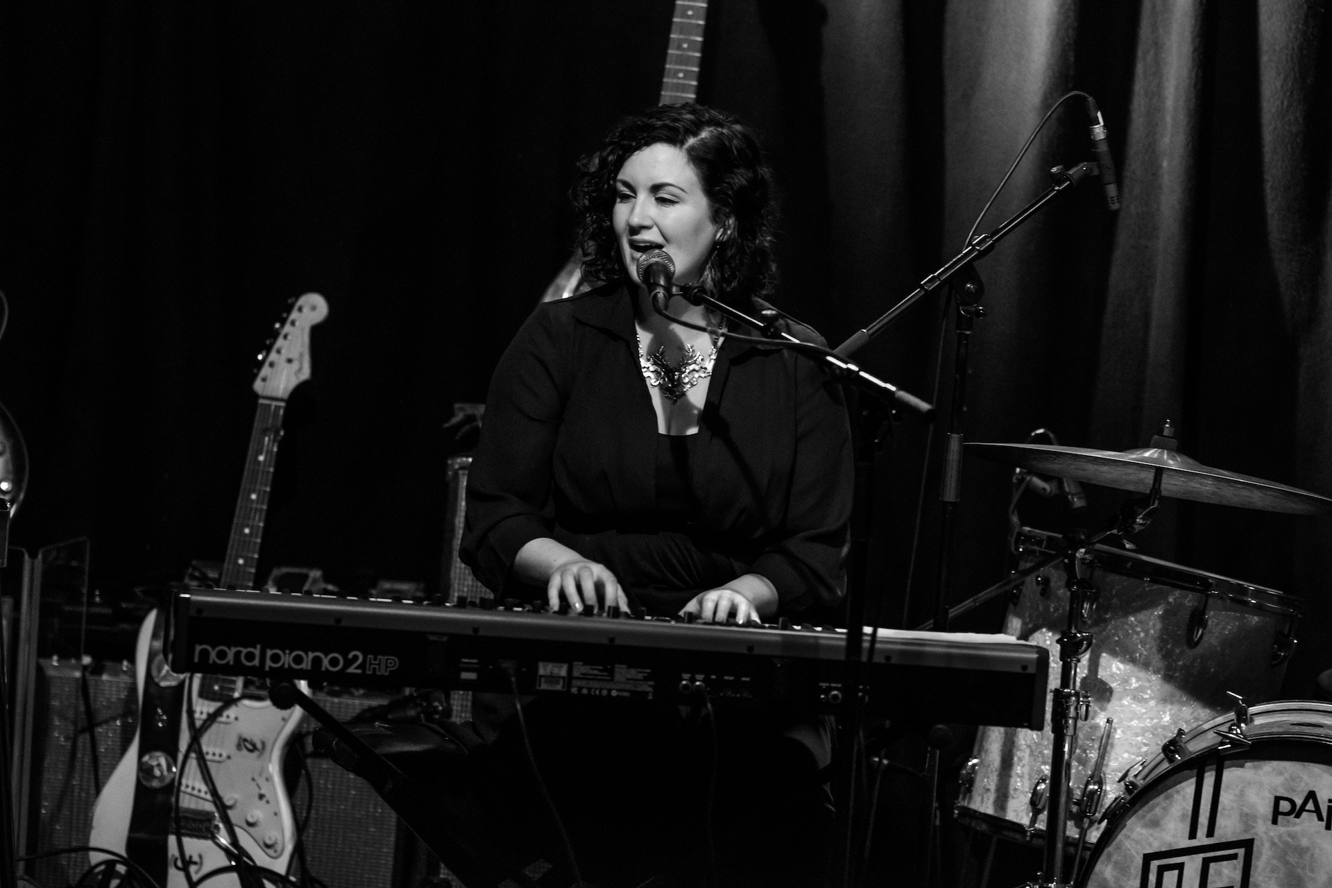 SRF 2016 - Anna Mitchell, Nord stage piano, Static Roots Festival 2016