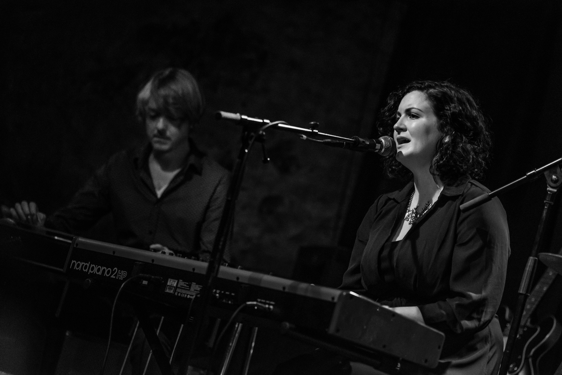 SRF 2016 - Anna Mitchell, David Murphy, Nord stage piano, Static Roots Festival 2016