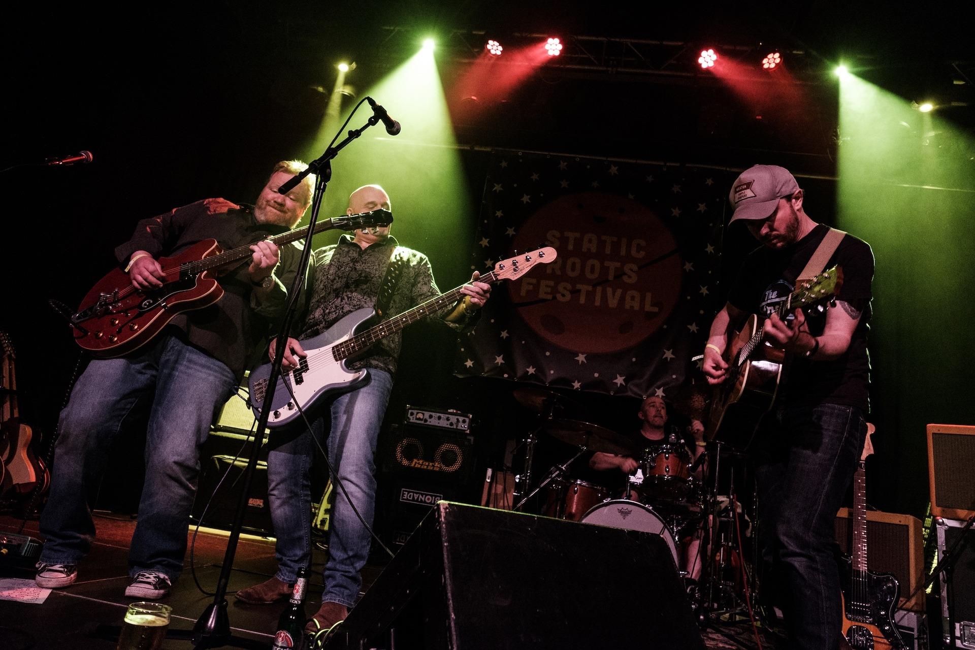 SRF 2016 - The Wynntown Marshals - Iain Sloan, Murdoch McLeod, Kenny McCabe, Keith Benzie, Static Roots Festival 2016