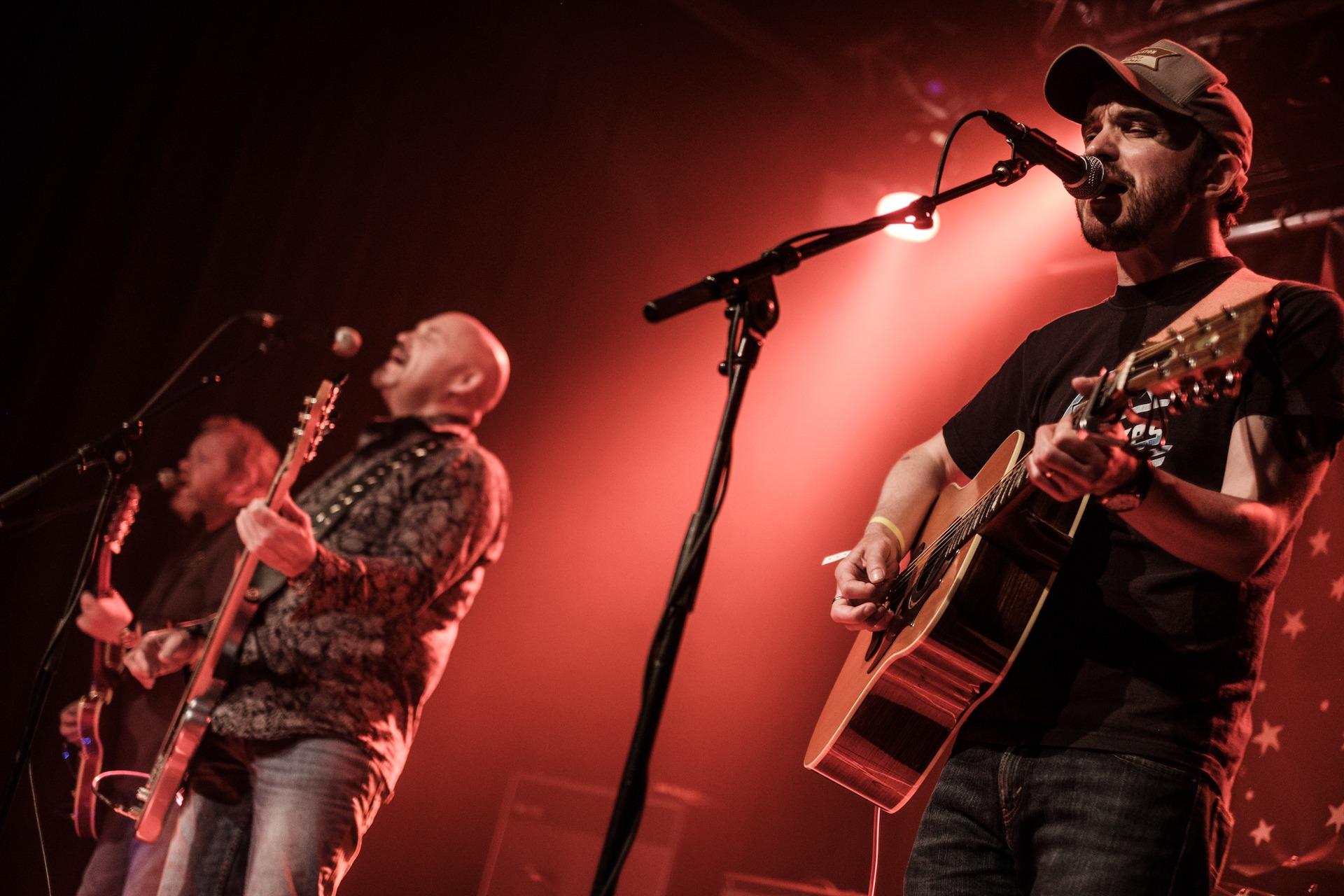 SRF 2016 - The Wynntown Marshals - Iain Sloan, Murdoch McLeod, Keith Benzie, Static Roots Festival 2016
