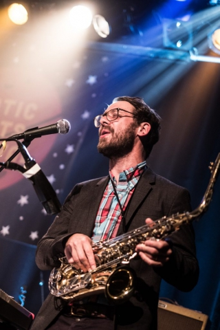 "Static Roots Festival 2017 - Danny And The Champions Of The World, ""Free Jazz"" Geoff Widdowson"