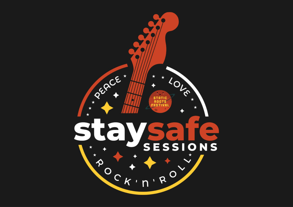 Stay Safe Sessions Logo - black