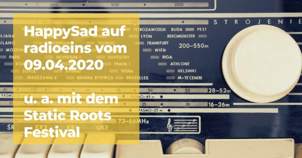 HappySad auf radioeins vom 09.04.2020