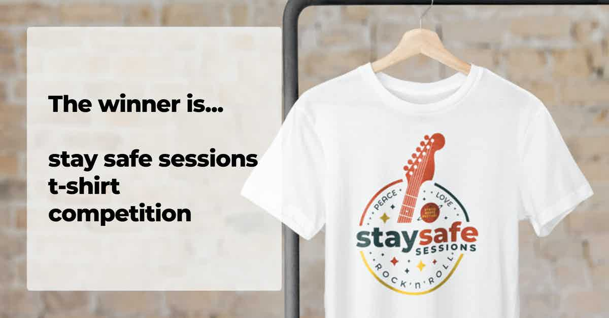 SRF - index image - stay safe sessions t-shirt competition winner