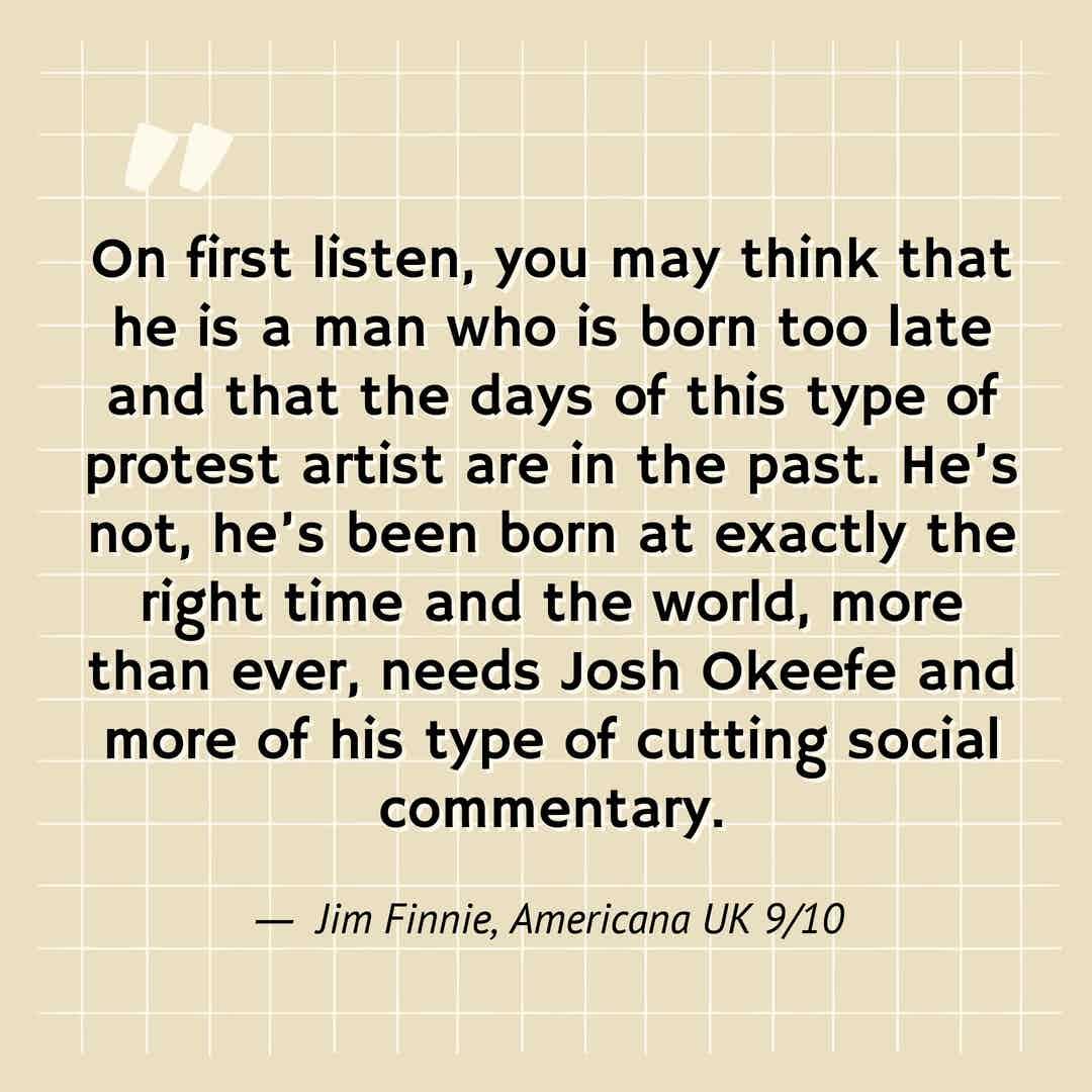 sss - quote - Josh Okeefe
