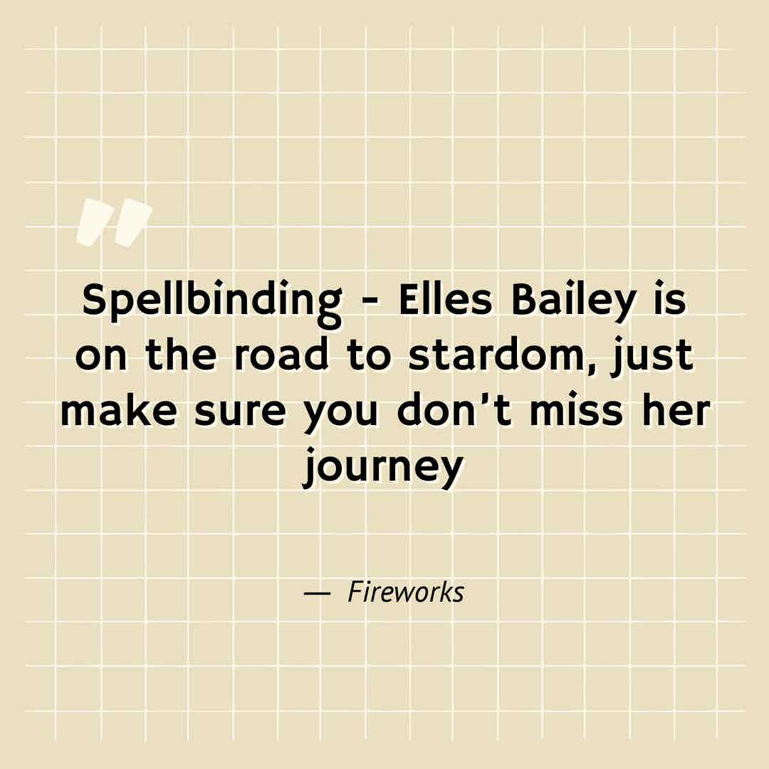 sss - quote - Elles Bailey