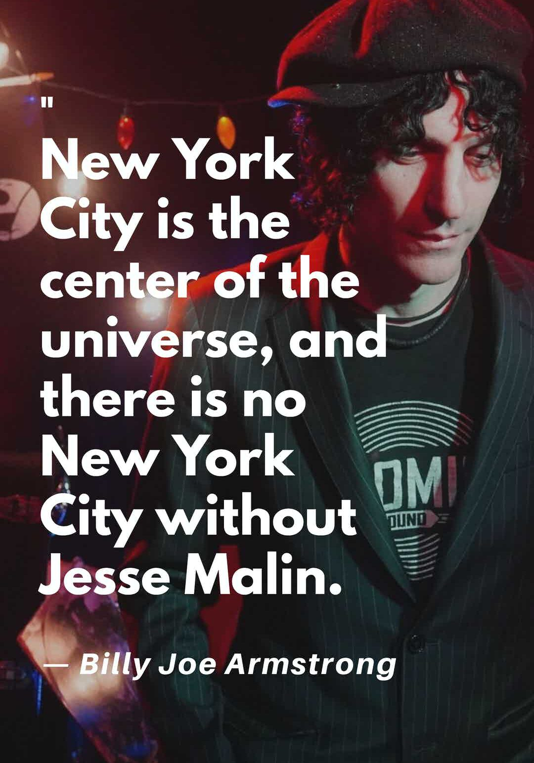 there is no new york city without jesse malin